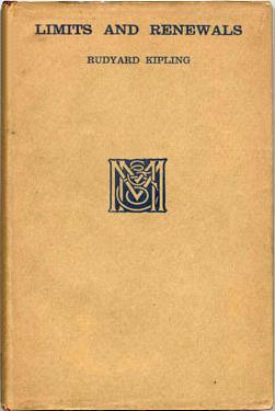 Rudyard Kipling: Limits and Renewals