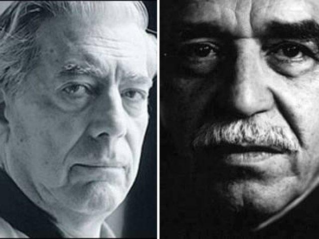 Garcia Marquez Vargas Llosa