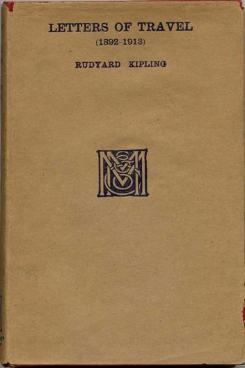Rudyard Kipling: Letters of Travel