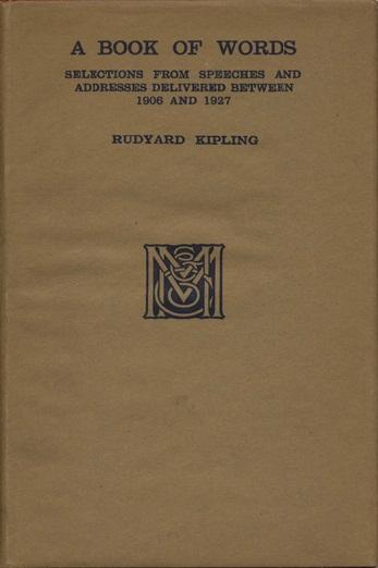 Rudyard Kipling: Book of Words